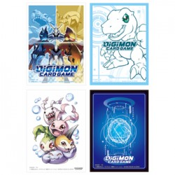 Collection 240 Sleeves Officielles - Digimon Card Game