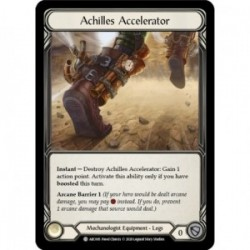 Achilles Accelerator - Flesh And Blood TCG