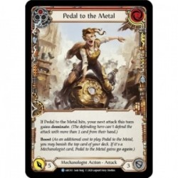 Pedal to the Metal (Red) - Flesh And Blood TCG