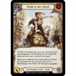 Pedal to the Metal (Yellow) - Flesh And Blood TCG