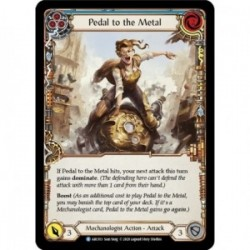 Pedal to the Metal (Blue) - Flesh And Blood TCG