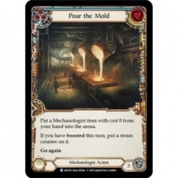 Pour the Mold (Blue) - Flesh And Blood TCG