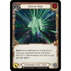 Zero to Sixty (Red) - Flesh And Blood TCG