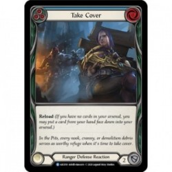 Take Cover (Blue) - Flesh And Blood TCG
