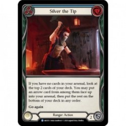 Silver the Tip (Blue) - Flesh And Blood TCG