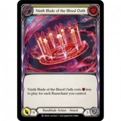 Ninth Blade of the Blood Oath - Flesh And Blood TCG