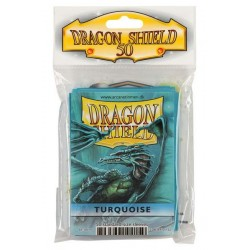 50 Protèges cartes Dragon Shield - Turquoise