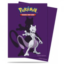 65 Protèges Cartes Pokemon - Mewtwo