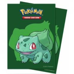 65 Protèges Cartes Pokemon - Bulbizarre