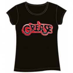 Grease - T-Shirt Fille - Large