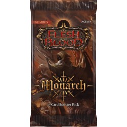 1 Booster Monarch Unlimited Flesh & Blood TCG
