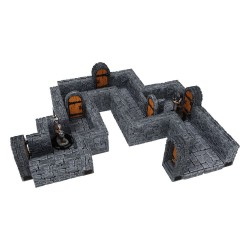 WarLock Tiles: Expansion Pack 1 - Dungeon Straight Walls