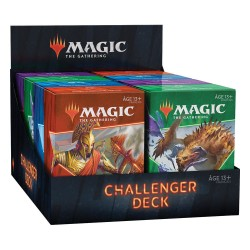 VO - Collection des 4 Challenger deck 2021 - Magic the Gathering