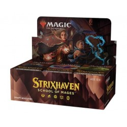 VO - 3 BOITES de 36 Boosters Strixhaven: School of Mages - Magic The Gathering