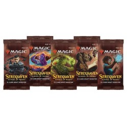 VF - LOT de 9 Boosters Strixhaven: School of Mages - Magic The Gathering