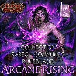 Set de cartes Communes + Rares Runeblade - Flesh & Blood