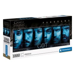 Puzzle 1000 pièces Panorama Faces - Game of Thrones