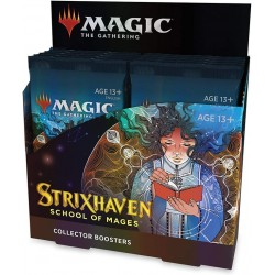 VF - 1 BOITE COLLECTOR de 12 Boosters Strixhaven: School of Mages - Magic The Gathering