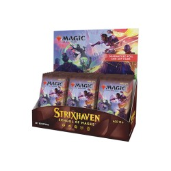VO - 3 BOITES de 30 Boosters d'extension Strixhaven: School of Mages - Magic The Gathering