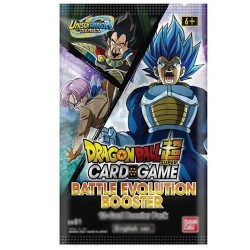 MARS 2021 PRECO - VF - 1 Booster Battle Evolution - DRAGON BALL SUPER Card Game