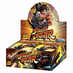 Street Fighter - Boite de 24 Boosters - Universal Fighting System