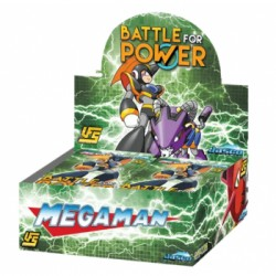 Megaman Battle for Power - Boite de 24 Boosters - Universal Fighting System