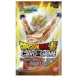 PRECO JUIN 2021 VF - 1 Booster Unison Warrior 5 - DRAGON BALL SUPER Card Game