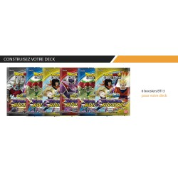 VF - 6 Boosters Unison Warrior 4 - DRAGON BALL SUPER Card Game