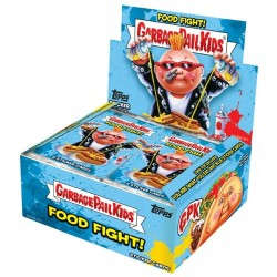 Collection Complète 100 Illustrations Food Fight SET A (Garbage Pail Kids) - Les Crados 2021