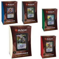 VF - Collection 5 Commander Deck - Strixhaven: School of Mages - Magic The Gathering