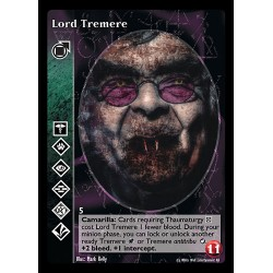 VO - LORD TREMERE - TREMERE - Vampire The Eternal Struggle - VTES