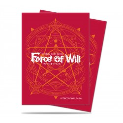 65 Protèges cartes Force of Will TCG