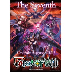 Préco VF - LOT 3 Boites de 36 Boosters The Seventh - Force of Will TCG