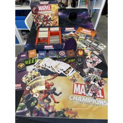 OCCASION - Pack Intégral Ludiworld Marvel Champions - Extensions + Accessoires