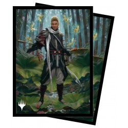 100 Protège-Cartes Magic The Gathering - Forgotten Realms - Grand Master of Flowers