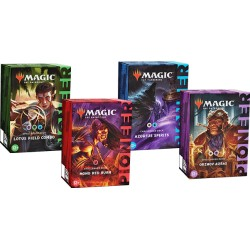 VO - Collection des 4 Pioneer Challenger deck 2021 - Magic the Gathering