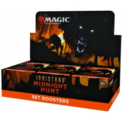 VO - 1 BOITE de 30 Boosters d'Extension Innistrad: Midnight Hunt - Magic The Gathering