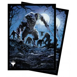 100 Protège-Cartes Magic The Gathering - Innistrad Midnight Hunt - Tovolar, the Midnight Scourge