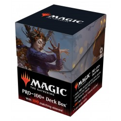 Deck Box 100 Cartes + 100 protèges cartes - Innistrad Midnight Hunt: Leinore, Autumn Sovereign - Magic: The Gathering