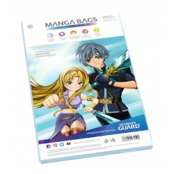 100 Pochettes Refermables pour Manga - Ultimate Guard