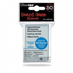 Ultra Pro - Board Game Sleeves - 41x63mm