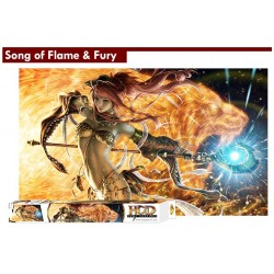 Song of Flame & Fury - HCD - Play Mat