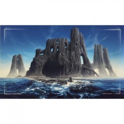 John Avon Art - Farway Island Play Mat