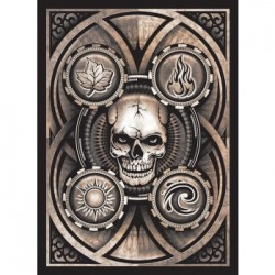 50 Protèges Cartes Legion - Matte Sleeves - Dead Man's Hand