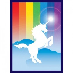 50 Protèges Cartes Legion - Gloss Sleeves - Unicorn