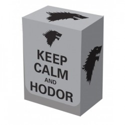 Deck Box Keep Calm & Hodor