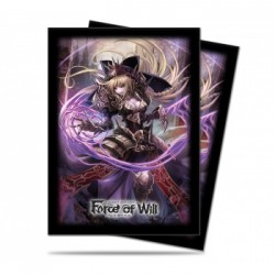 65 Protèges Cartes - Force of Will - Dark Faria