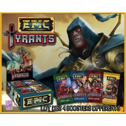 Epic Tyrant : Collection Complète des 4 Boosters