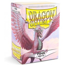 Protèges cartes Dragon Shield - Matte Pink