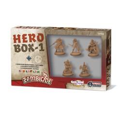 Zombicide : Black Plague - Hero Box 1